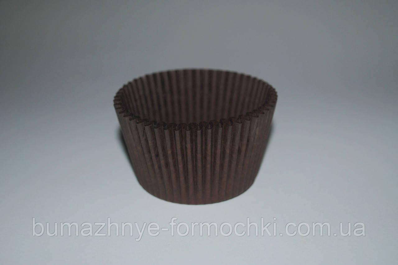 Формочка для кексов, коричневая, 55*42.5 мм