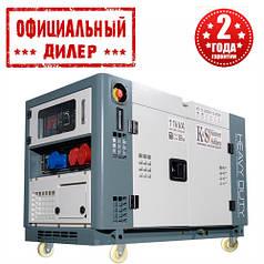 Генератор дизельний Könner&Söhnen KS 13-2DEW 1/3 ATSR (11.25 кВт, 380 В)