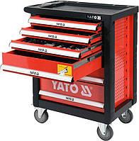 Сервисная тележка на колёсах с инструментами YATO YT-55307