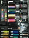 150 шт Набор для рисования Artistic Set в чемоданчике художественный предметы, фото 3