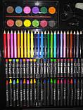 150 шт Набор для рисования Artistic Set в чемоданчике художественный предметы, фото 2