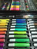 150 шт Набор для рисования Artistic Set в чемоданчике художественный предметы, фото 4