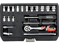 Набор торцевых головок YATO YT-14491