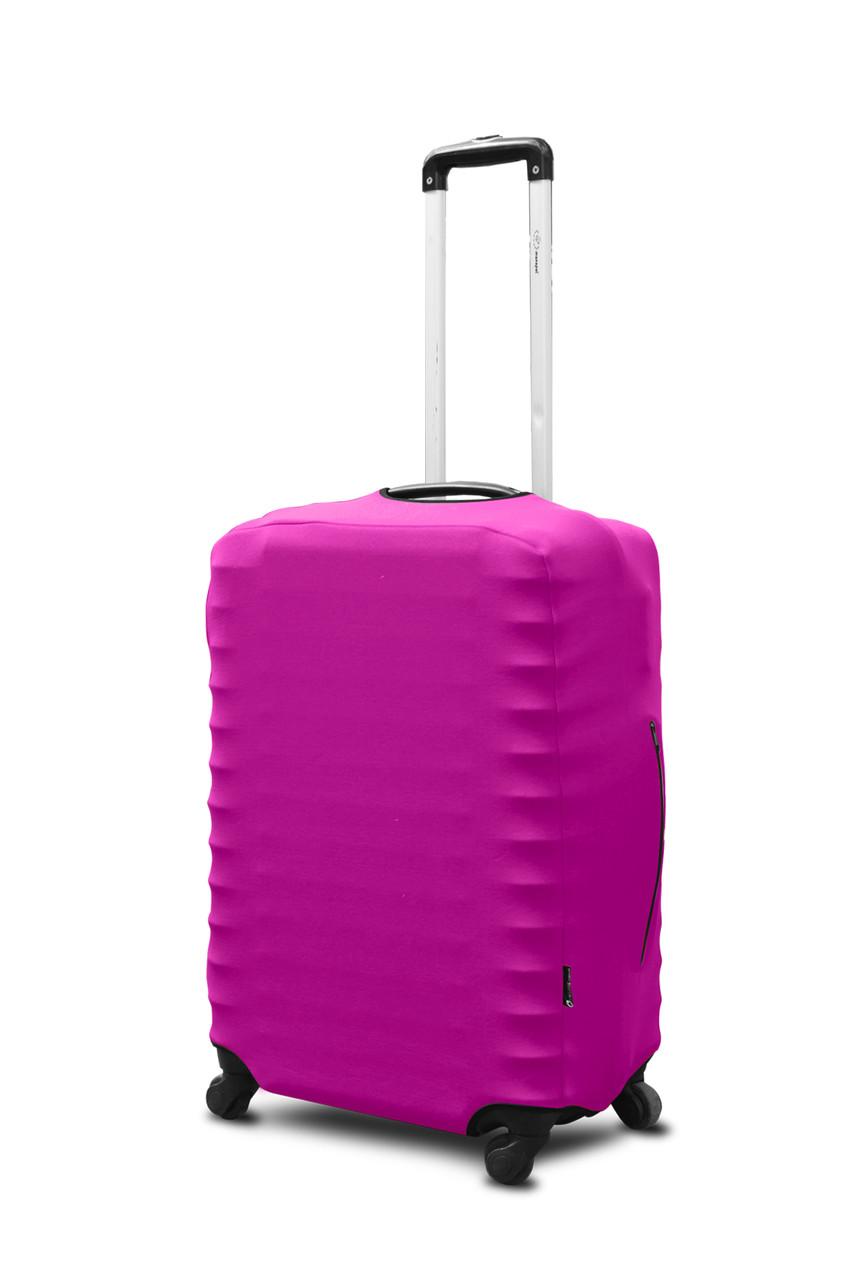 Чохол для валізи Coverbag неопрен M фуксія