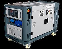 Генератор дизельний Könner&Söhnen KS 13-2DEW ATSR (9 кВт, 230 В), фото 2