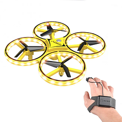 Квадрокоптер суправлением жестами руки Tracker KFR-001