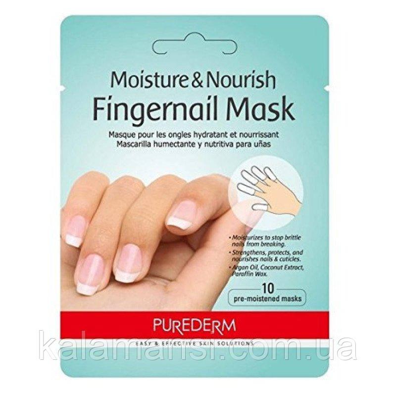 Увлажняющая и питательная маска для ногтей PUREDERM Moisture Nourish Fingernail Mask 3g
