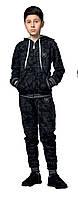 Спортивный костюм турецкий на мальчиков 146,152,158,164,170 роста Militari синий