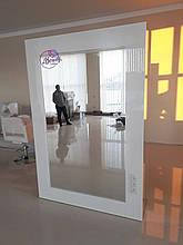 Рабочее место парикмахера, двухстороннее зеркало из МДФ