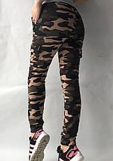 Спортивные брюки с накладными карманами N° 125К/1, фото 3