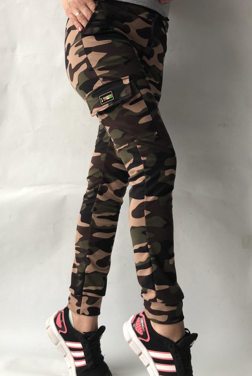 Спортивные брюки с накладными карманами N° 125К/1