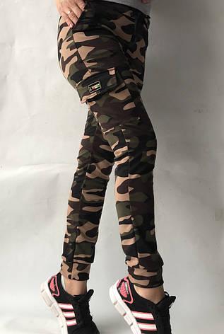 Спортивные брюки с накладными карманами N° 125К/1, фото 2