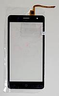 Сенсор (тачскрин) для Ergo B500 Firstчерный