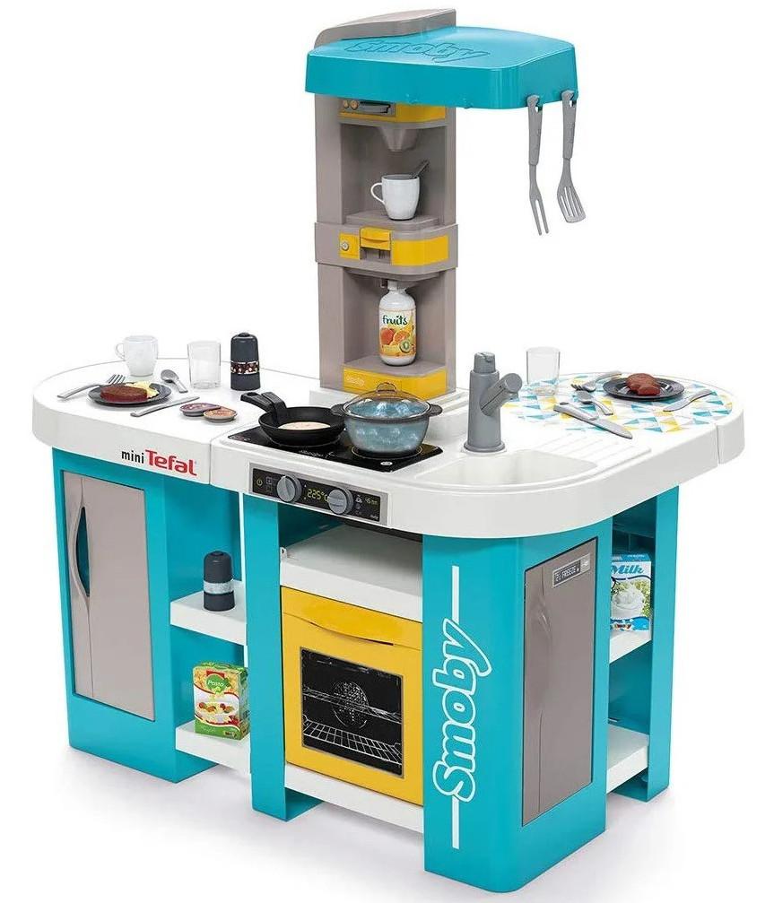Детская интерактивная игровая кухня Tefal Studio XL Smoby 311045 для детей
