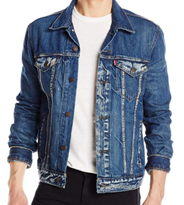 Джинсовая куртка Levis Trucker - Danica ( 5XL)
