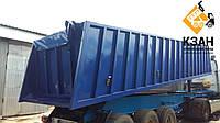 Тентовая накидка из ткани ПВХ  на кузов длиной до 10,5 м шириной до 2,55 м с комплектом для установки