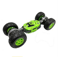 Трюковая Машинка перевёртыш с управлением от руки жестами вездеход Dance Monster, цвет красный, зеленый