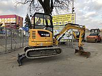 Аренда мини-экскаватора Caterpillar 302.7D