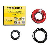 Теплый пол под плитку In-Therm ECO 550 Вт (2,7-3,2 м2) двужильный нагревательный кабель IN-TERM Fenix