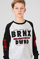 Модный свитшот для мальчика подростка C&A Германия Размер 158-164 158-164