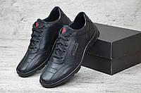 Мужские кожаные прошитые кроссовки COLUMBIA ZK sport