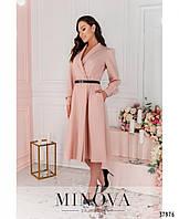 Стильное платье-пальто  двубортное, застёгивается на две пуговицы c 50 по 56 размер