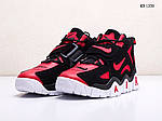 Чоловічі кросівки Nike Air Barrage Mid (чорно-червоні) 1350, фото 2