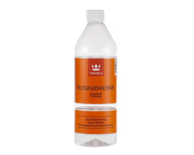 Растворитель органический TIKKURILA  1032 для распыления пульверизатором 1л