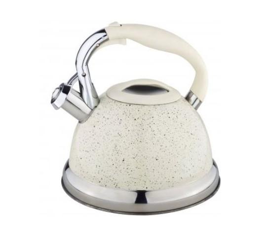 Бежевый чайник Edenberg EB-1955 со свистком 3 л