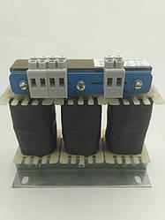 INS 3-8-400; 8А, трехфазный сетевой дроссель INDUCTO 4%