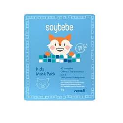 Детская тканевая маска OSSE Soy Bebe Kids mask pack