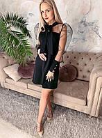 Нарядное коктейльное платье Черный