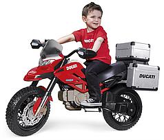 Электромотоцикл Peg-perego DUCATI ENDURO