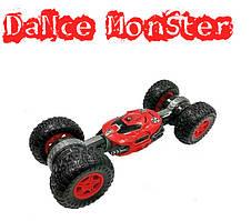 Машинка перевертыш на радиоуправлении Dance Monster.Машинка трансформер вездеход  Dance Monster.