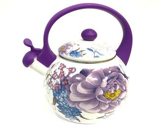Чайники | Чайник эмалированный Benson BN-100 1,5 литра (выбор цвета)