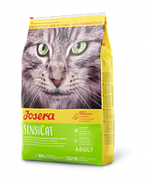 Корм Josera SensiCat для кошек с чувствительным пищеварением, 10 кг