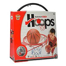 Баскетбольное кольцо Bambi M 5966 мяч и насос в комплекте, фото 3
