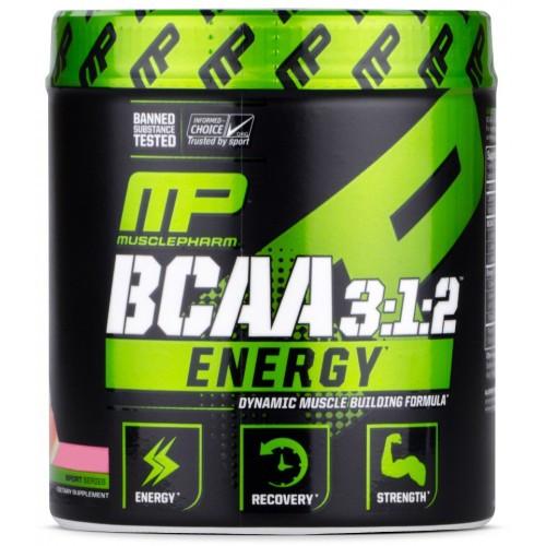 BCAA MusclePharm BCAA 3:1:2 ENERGY 270g.