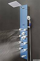 Гидромассажная панель Dusel DUV878392H (зеркально-голубая)