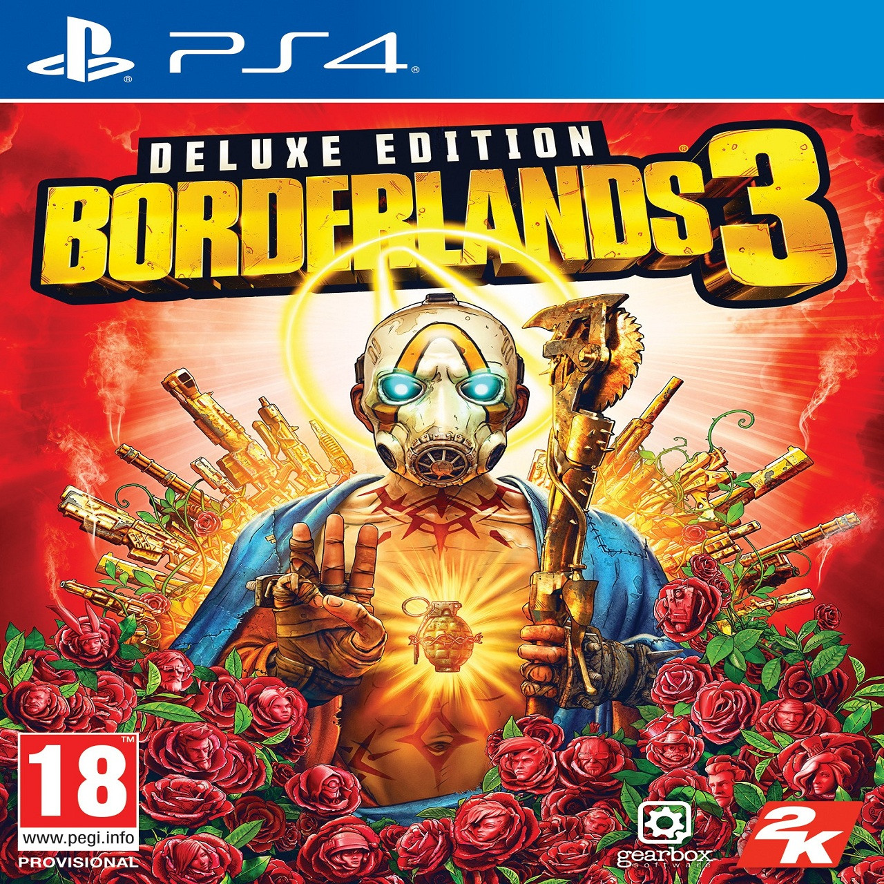 Borderlands 3 Delux Edition RUS PS4 (NEW)