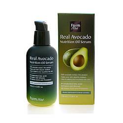Сыворотка с маслом авокадо FarmStay Real Avocado Nutrition Oil serum