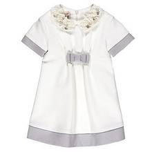 Дитяче плаття для дівчинки Святковий одяг для дівчаток Одяг для дівчаток 0-2 BRUMS Італія 92,, білий,
