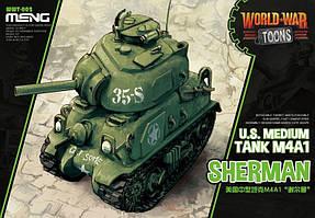 M4A1 SHERMAN сборная модель американского среднего танка MENG MODEL WWT-002