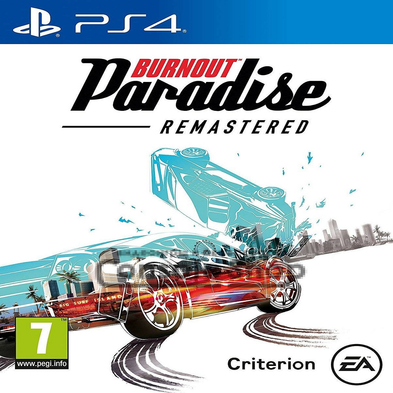 Burnout Paradise Remastered RUS PS4