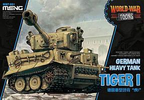 TIGER 1. Сборная модель (сборка без клея). MENG WWT-001