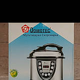 Мультиварка-скороварка DOMOTEC MS 5501,9 програм,6 литров 1000 Вт, фото 3