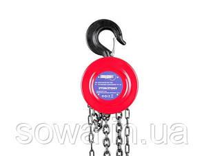 ✔️ Цепная  Лебедка Euro Craft  : 1000кг  : 2.5м, фото 2