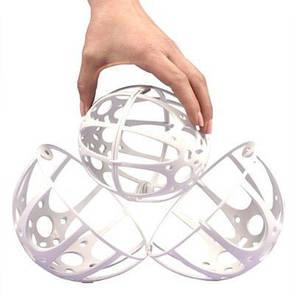 🔝 Контейнер для стирки бюстгальтеров Bubble Bra, шар Bra Protector, с доставкой по Киеву и Украине   🎁%🚚