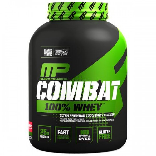Протеїн MusclePharm COMBAT 100% WHEY 2200g.