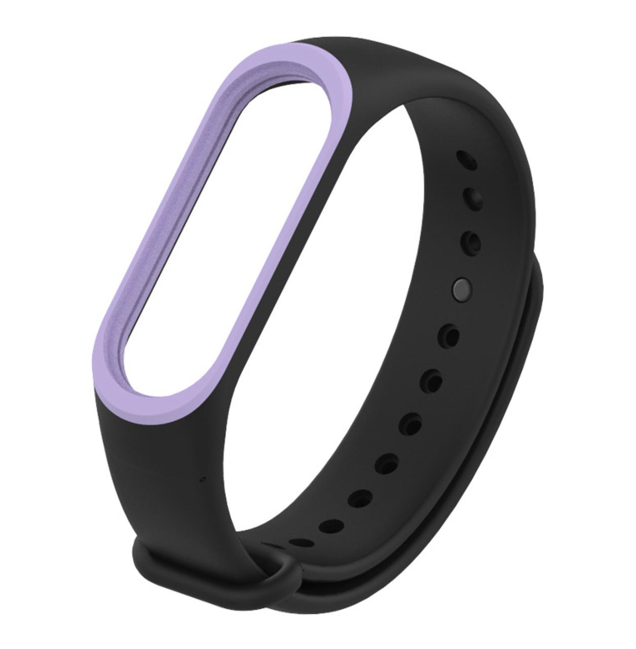 Ремешок Xiaomi Mi Band 3/4 (Black-purple)